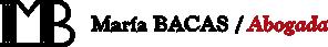 Maria Bacas Abogada Logo